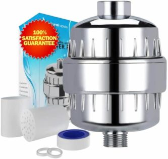 Shower Water Filter with Cyclone Filtration