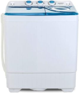 KUPPET Compact Twin Tub Portable Mini Washing Machine
